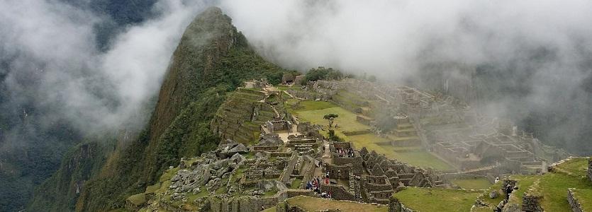 Montes va essayer un procès vignoble près de Machu Picchu du Pérou